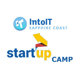 IntoIT and StartUP Camp Logo Combined